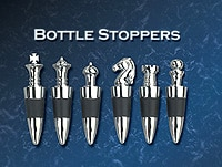 Chess Bottle Stoppers