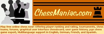 Chess Maniac - link opens in new window